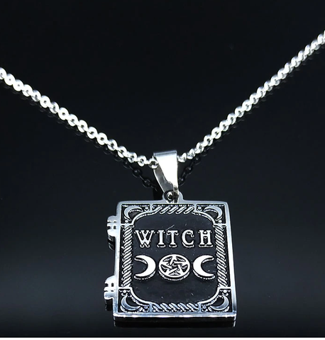 Witch Stainless Steel Necklace