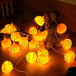 1 Set Pumpkin 3M 30 LED String Lights