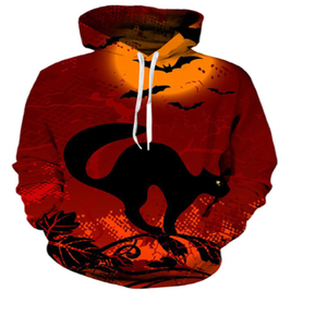 The Night Cat  3D Hooded Sweatshirt