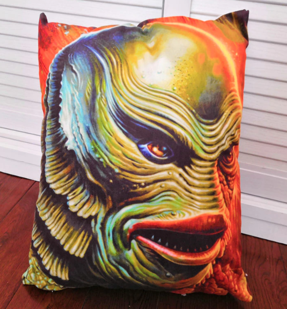 Classic Horror Monster Pillow Case