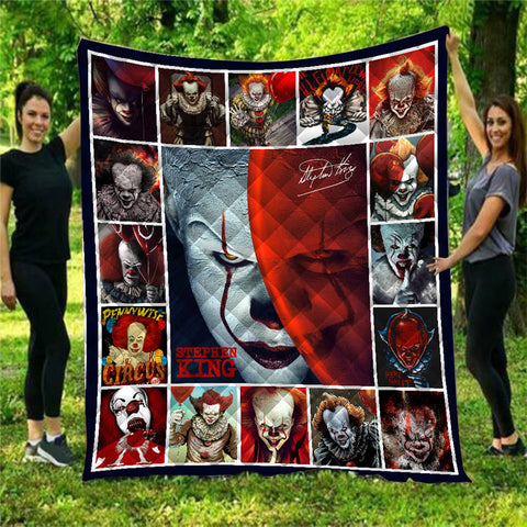 Pennywise IT Quilt Blanket