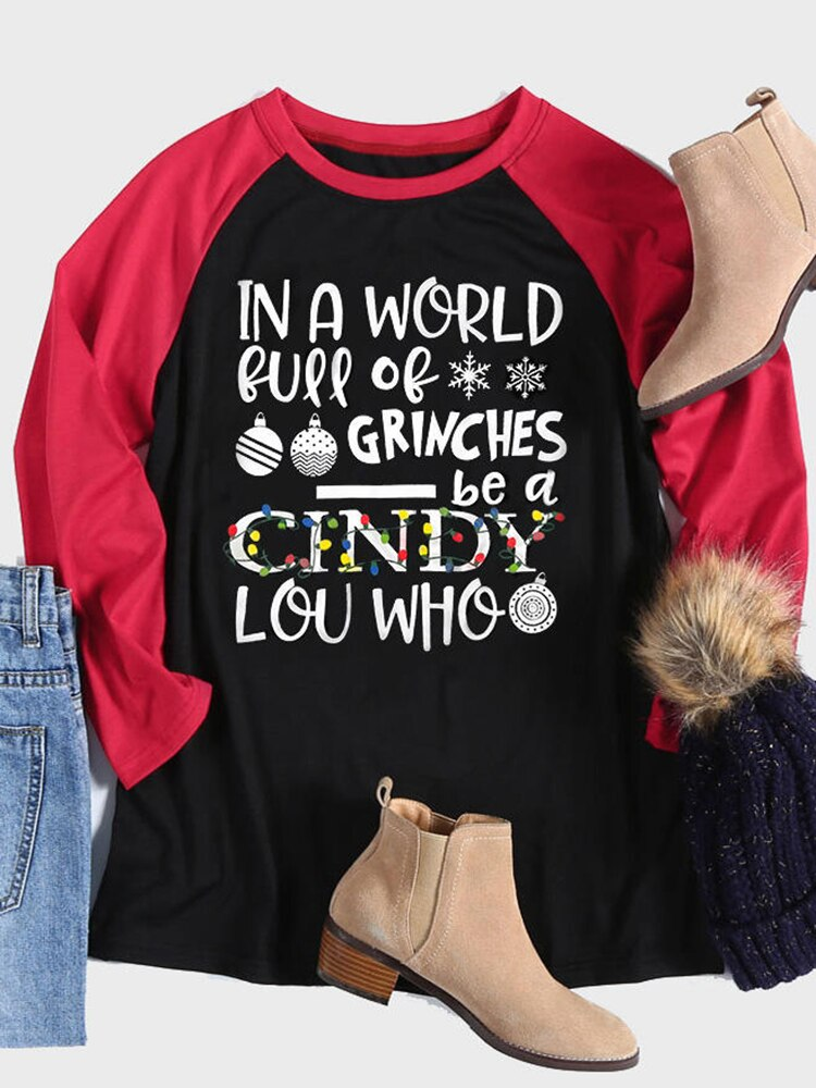 Be A Cindy Lou Who Christmas Shirt