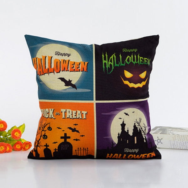 Halloween Pillow Case Cushion Covers
