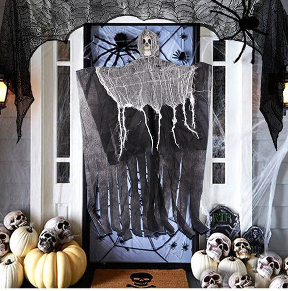Hanging Skull Skeleton Halloween Decoration