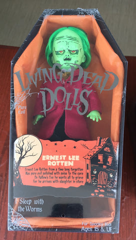 Living Dead Doll Series 32 Ernest Lee Rotten