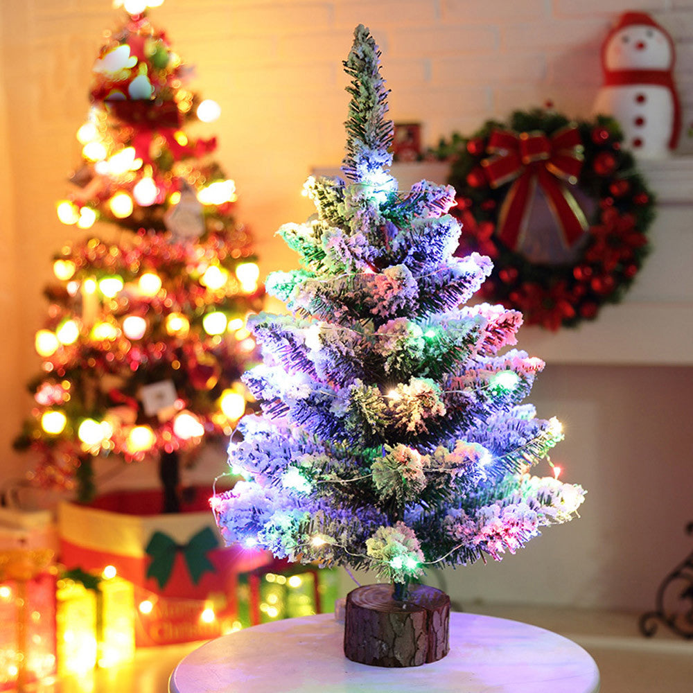 PVC Christmas Tree LED Multicolor Lights Decoration