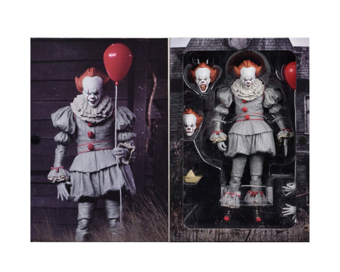 7 inch Stephen King's It Pennywise Horror Action Figure