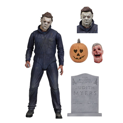 Halloween Michael Myers Original Version PVC Action Figure Collectible Toy