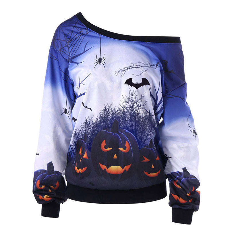 The Midnight Pumpkin Long Sleeve Top