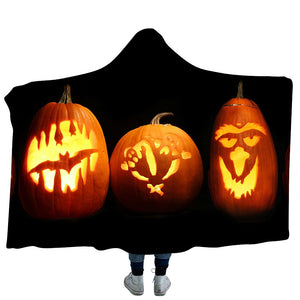 Halloween Hooded Blanket