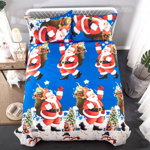 Christmas Santa Gift Bedding