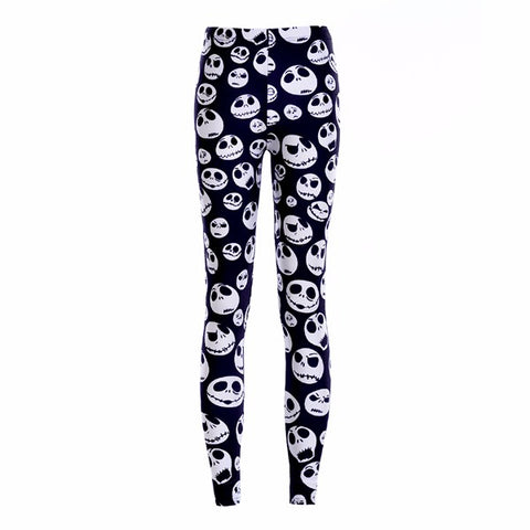 3D Printed Jack Skellington Leggings