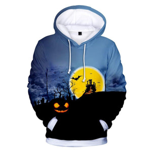 Midnight Castle  3D Hooded Sweatshirt