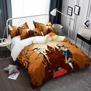 Nightmare Before Christmas Jack & Sally Bedding
