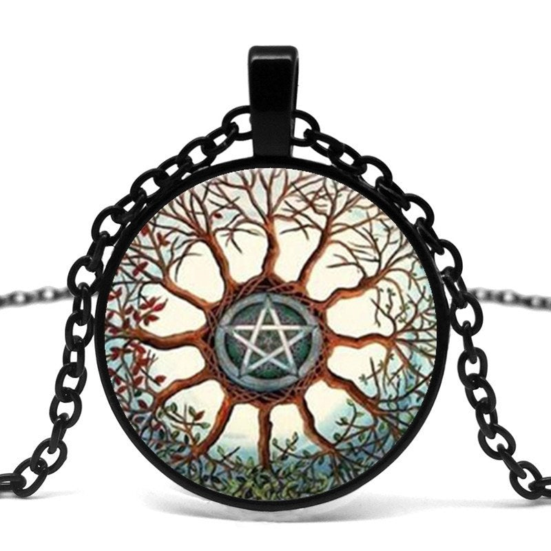 Pagan Tree Pendant Necklace