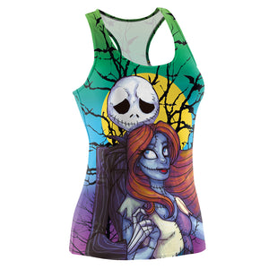 3D Printed Nightmare Before Christmas Tank Top Shirt