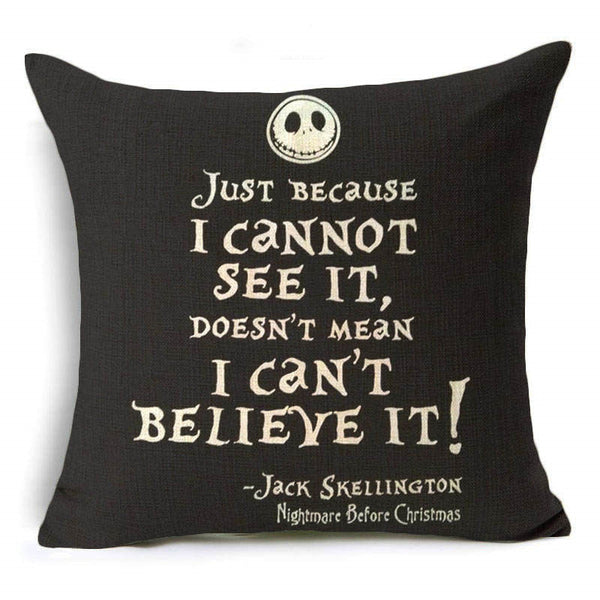 The Nightmare Before Christmas Pillow Cushion Covers