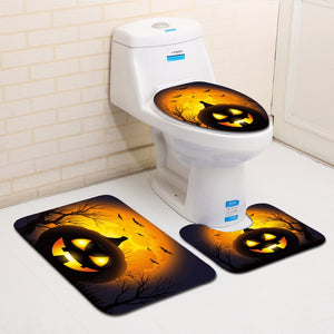 Halloween Horror 3pc Bathroom Sets