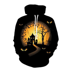 Creepy Night Halloween Hoodie