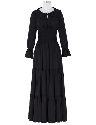 Long Sleeve Renaissance Womens Dress
