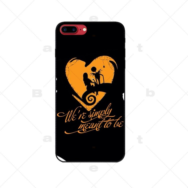 Nightmare Before Christmas Jack & Sally IPhone Case