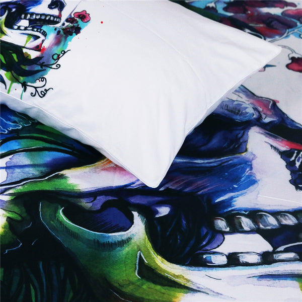Candid by Pixie Cold Art Bedding Set  3pc Duvet Bedding Set