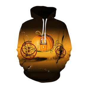 The Pumpkin Carriage Hooded Sweatshirt