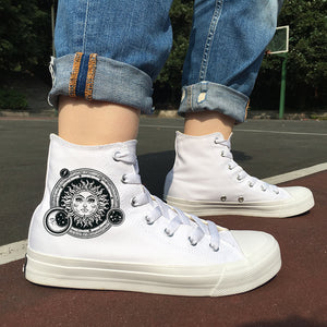 Wen's Women's Celestial Mind Canvas Sneakers