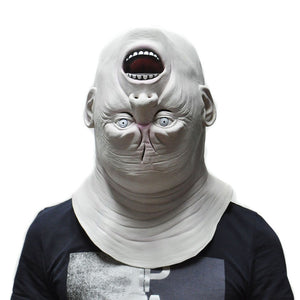 Creepy Halloween Upside-Down Head Mask