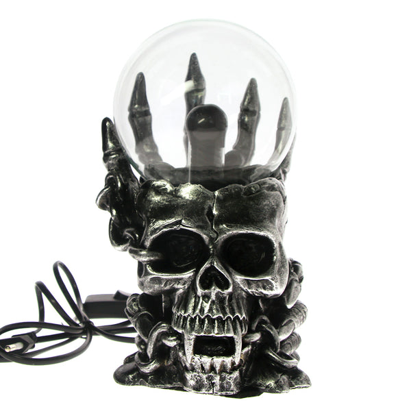 Gothic Skull Glass Touch Light Lamp