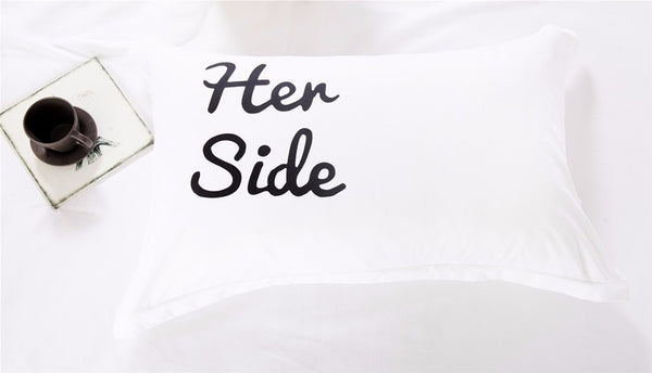 Her Side His Side Duvet Bedding Set