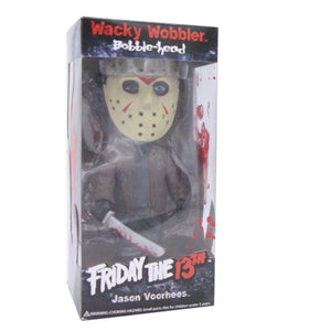 Wacky Wobbler Jason Voorhees Bobble Head Doll