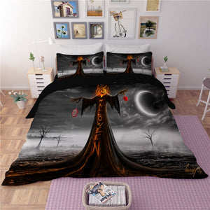 Halloween Horror Duvet Bedding Set