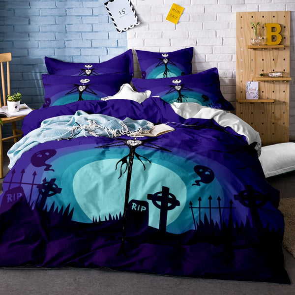 Nightmare Before Christmas Jack Skellington Bedding
