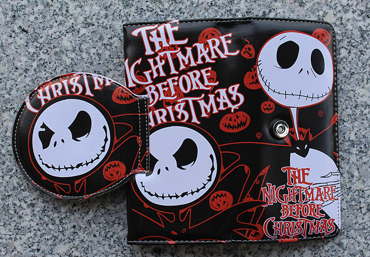 The Nightmare Before Christmas Jack Skellington Wallet