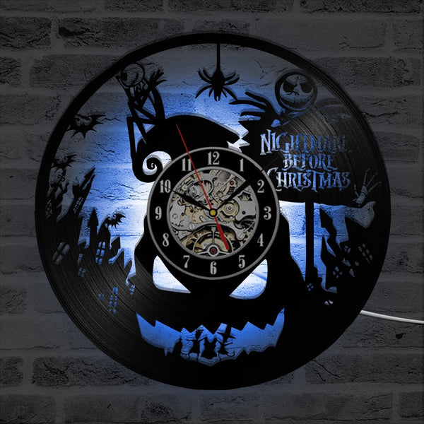 The Nightmare Before Christmas LED Colors Clock