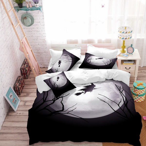 The Midnight Flight 3PC Duvet Bedding Set