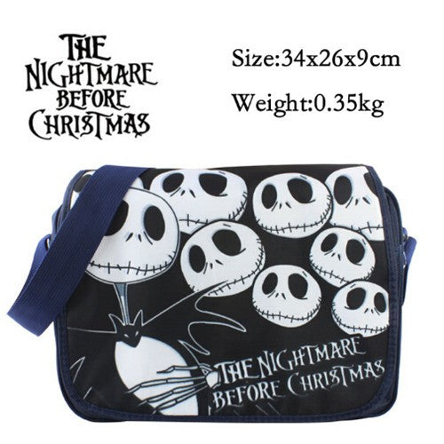 The Nightmare Before Christmas Jack Skellington Polyester Shoulder Bag