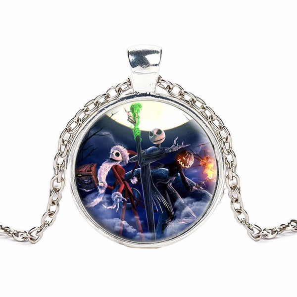 Nightmare Before Christmas Pendant Necklace