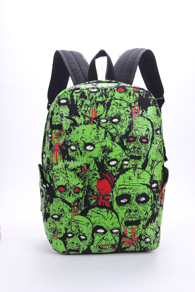 Zombie Attack Monster Glow in the Dark Bag