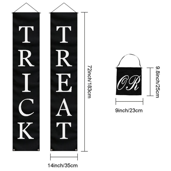 Trick Or Treat Banner Sign