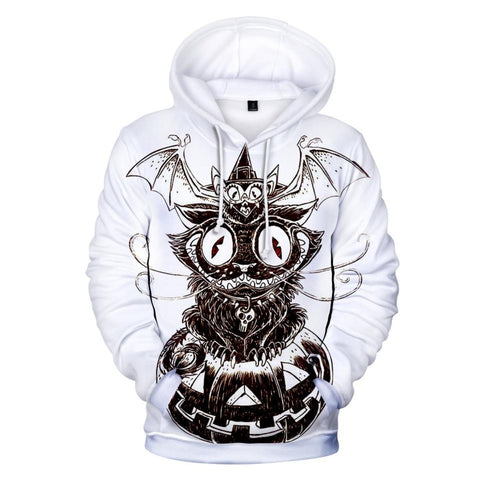 Halloween Magic 3D Hooded Sweatshirt