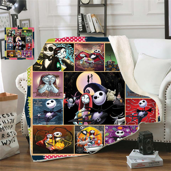 The Nightmare Before Christmas Premium Throw Blanket