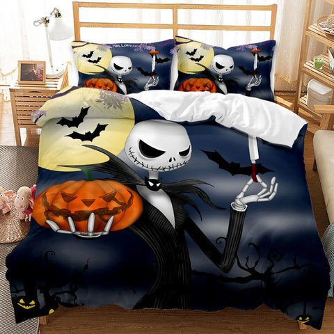 3D Printed Nightmare Before Christmas Bedding