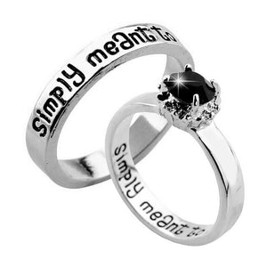 Simply Meant to Be Jack & Sally Ring