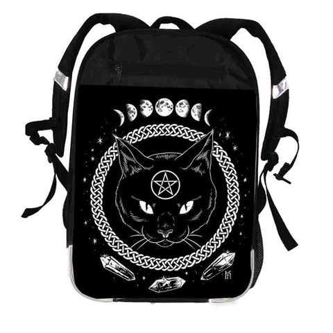 The Witching Hour Cat Moon Backpack