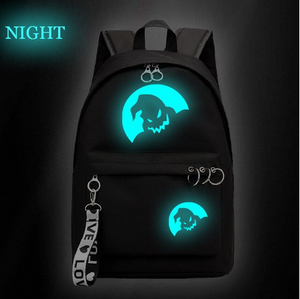 Glow in the Dark Nightmare Before Christmas Backpack Bag