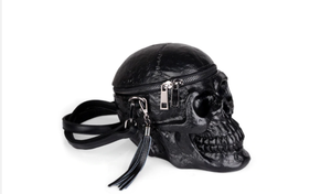 3D Gothic Style Skull Shoulder Bag