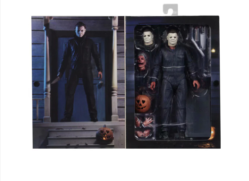 Halloween Michael Myers & Laurie Strode Action Figure Collectible