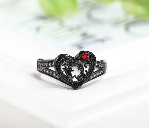 Nightmare Before Christmas Ring